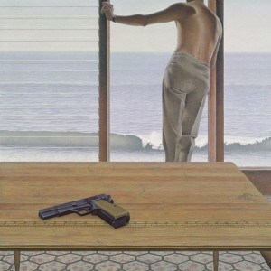 Pacific — painting by Alex Colville