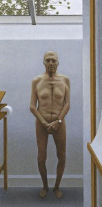 Studio — painting by Alex Colville
