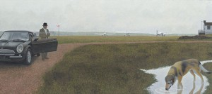 Waterville — painting by Alex Colville